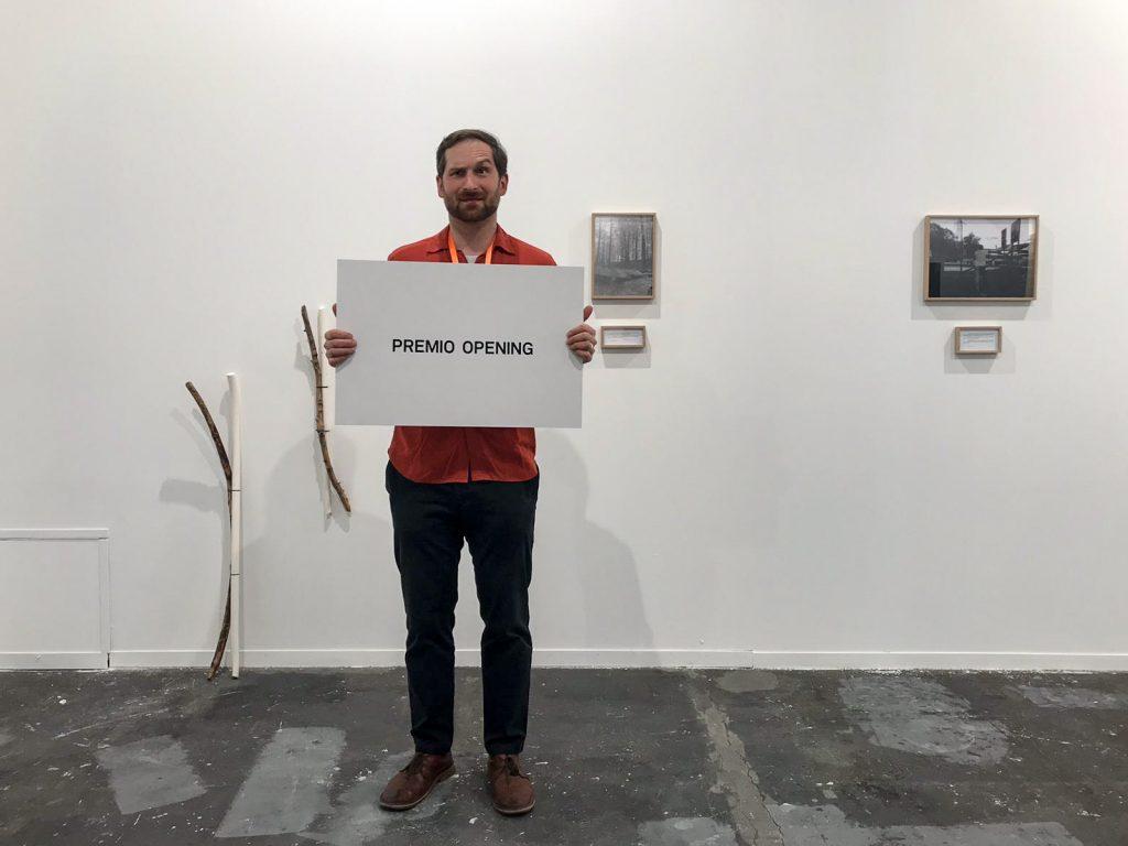 Istvan Ist Huzjan, Opening Prize, ARCOmadrid 2019